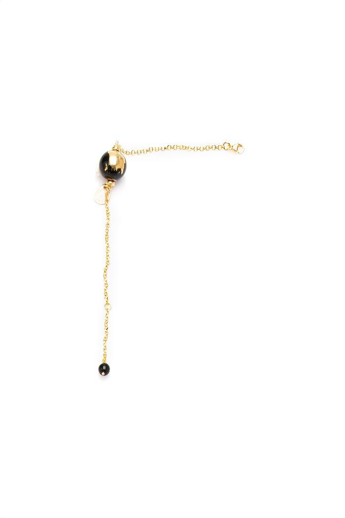 Antica Murrina γυναικείο βραχιόλι από ασήμι 925 σε χρυσό χρώμα Μelissa Τ Τop 0