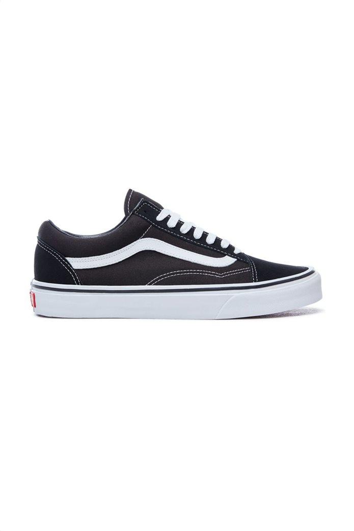 Vans unisex sneakers με κορδόνια Old Skool Μαύρο 0