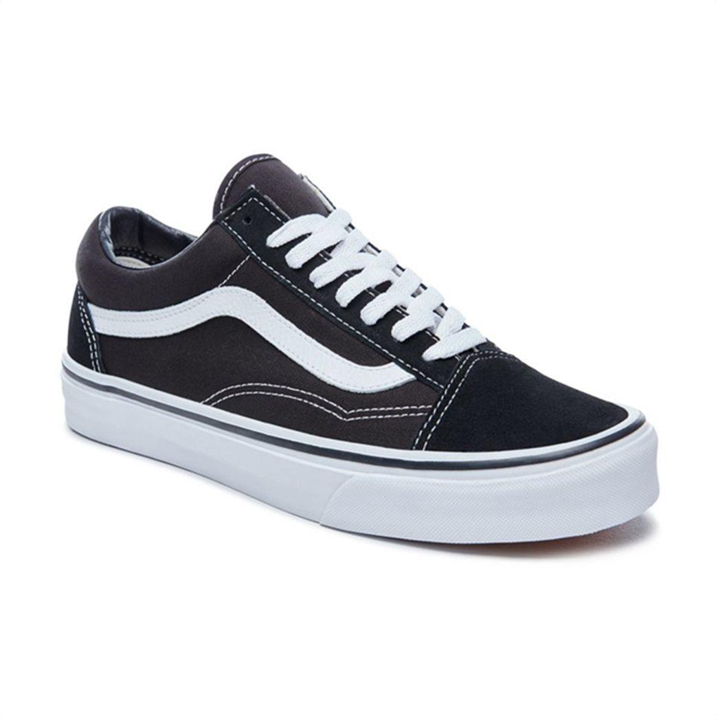 Vans unisex sneakers με κορδόνια Old Skool Μαύρο 2