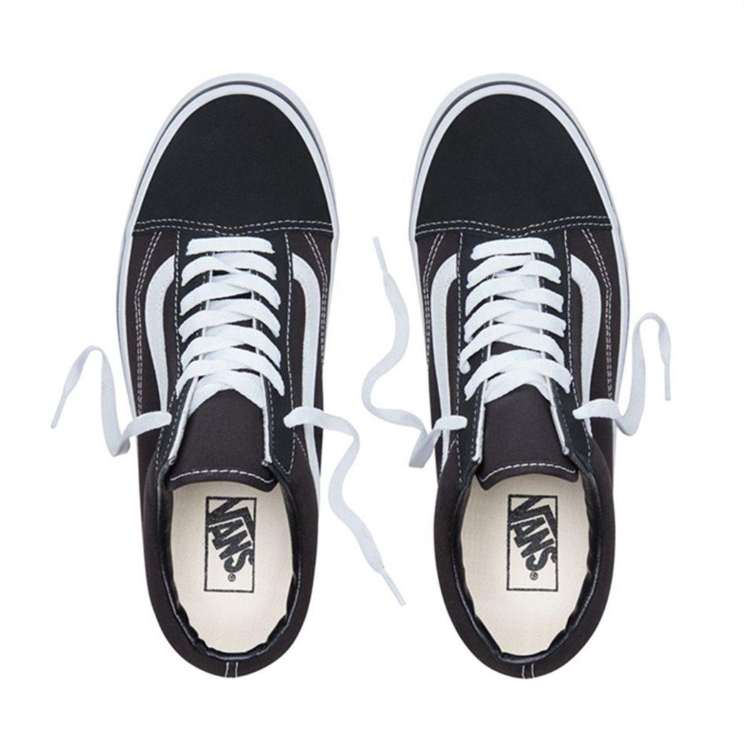 Vans unisex sneakers με κορδόνια Old Skool Μαύρο 3