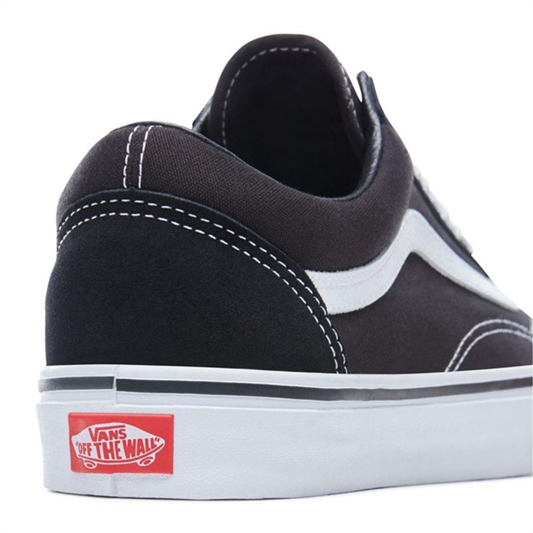 Vans unisex sneakers με κορδόνια Old Skool Μαύρο 5