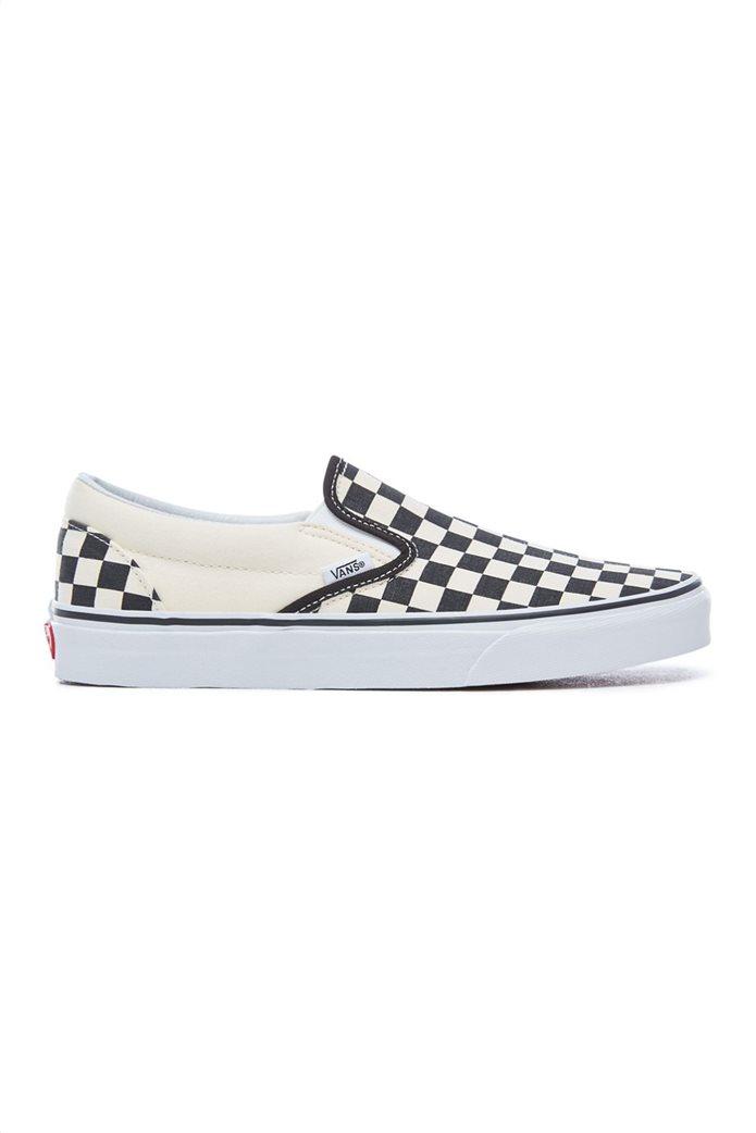 Vans unisex υφασμάτινα παπούτσια  Classic Slip-On Λευκό 0
