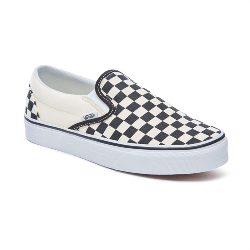 Vans unisex υφασμάτινα παπούτσια  Classic Slip-On Λευκό 2