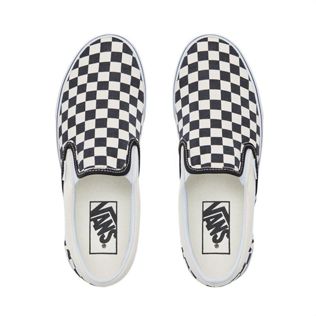 Vans unisex υφασμάτινα παπούτσια  Classic Slip-On Λευκό 3