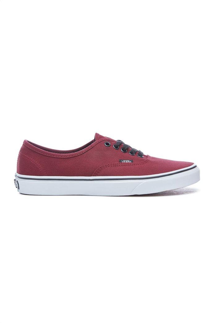 Vans unisex υφασμάτινα παπούτσια με μαύρα κορδόνια Authentic 0