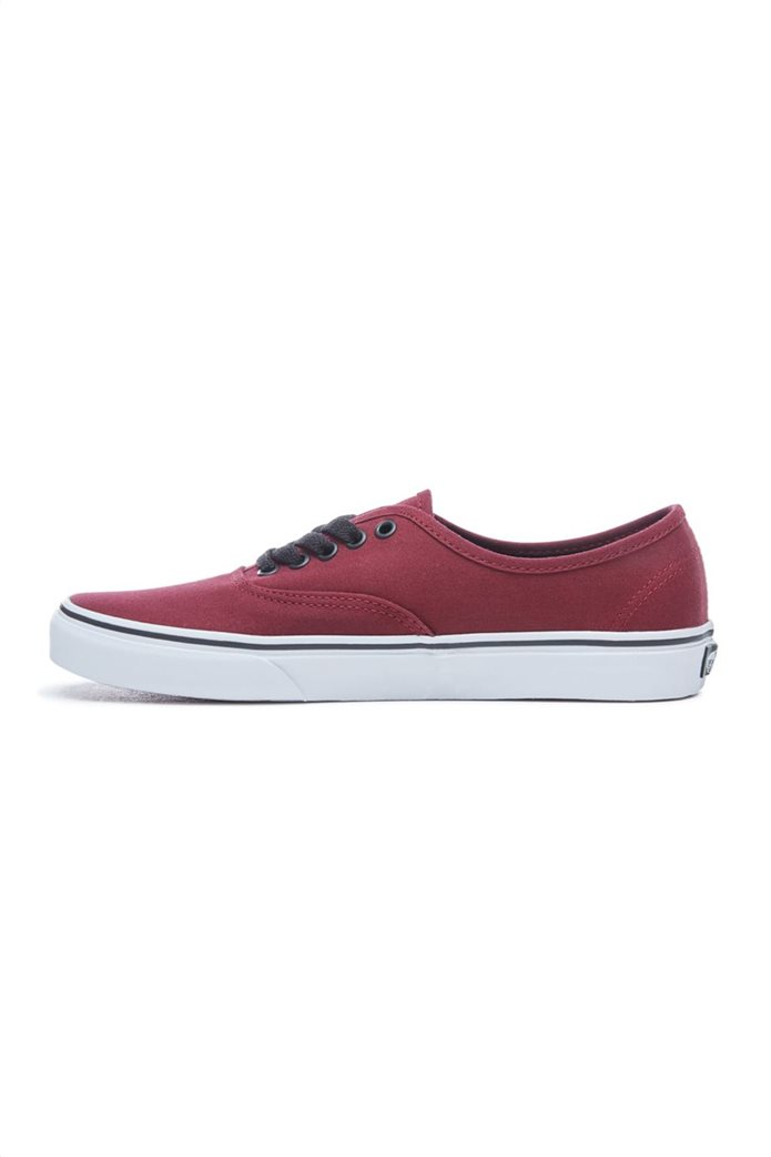 Vans unisex υφασμάτινα παπούτσια με μαύρα κορδόνια Authentic 1