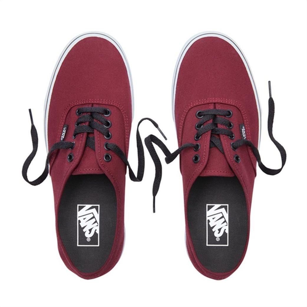 Vans unisex υφασμάτινα παπούτσια με μαύρα κορδόνια Authentic 3