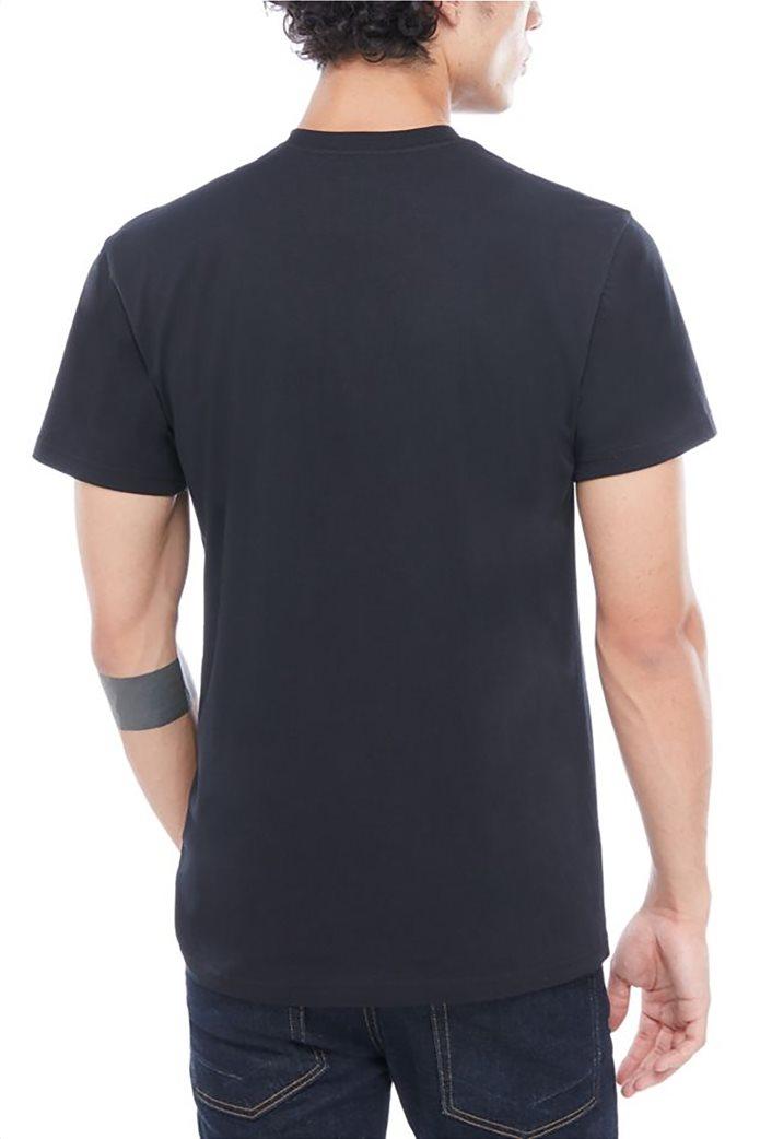 Vans ανδρικό T-shirt Classic Μαύρο 1