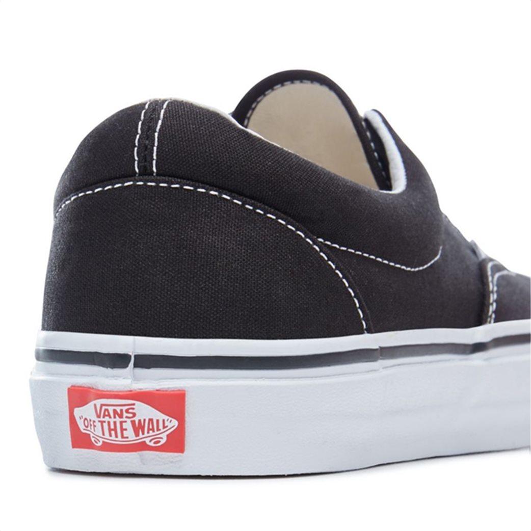Vans unisex υφασμάτινα παπούτσια Εra Μαύρο 4