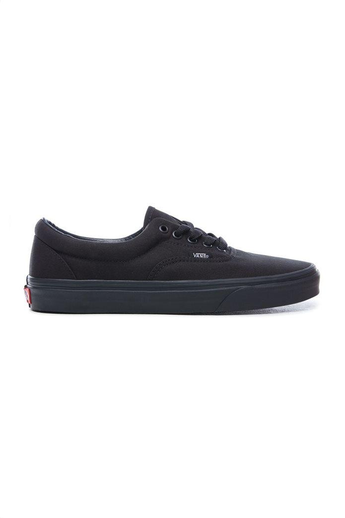 Vans unisex υφασμάτινα παπούτσια με μαύρη σόλα Era 0