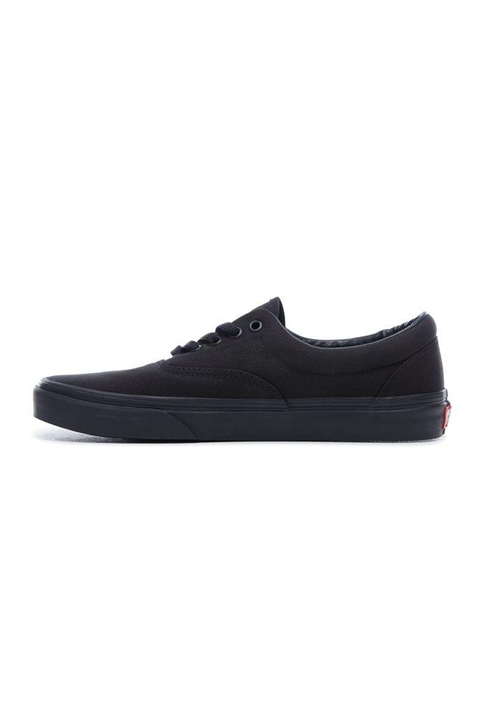 Vans unisex υφασμάτινα παπούτσια με μαύρη σόλα Era 1