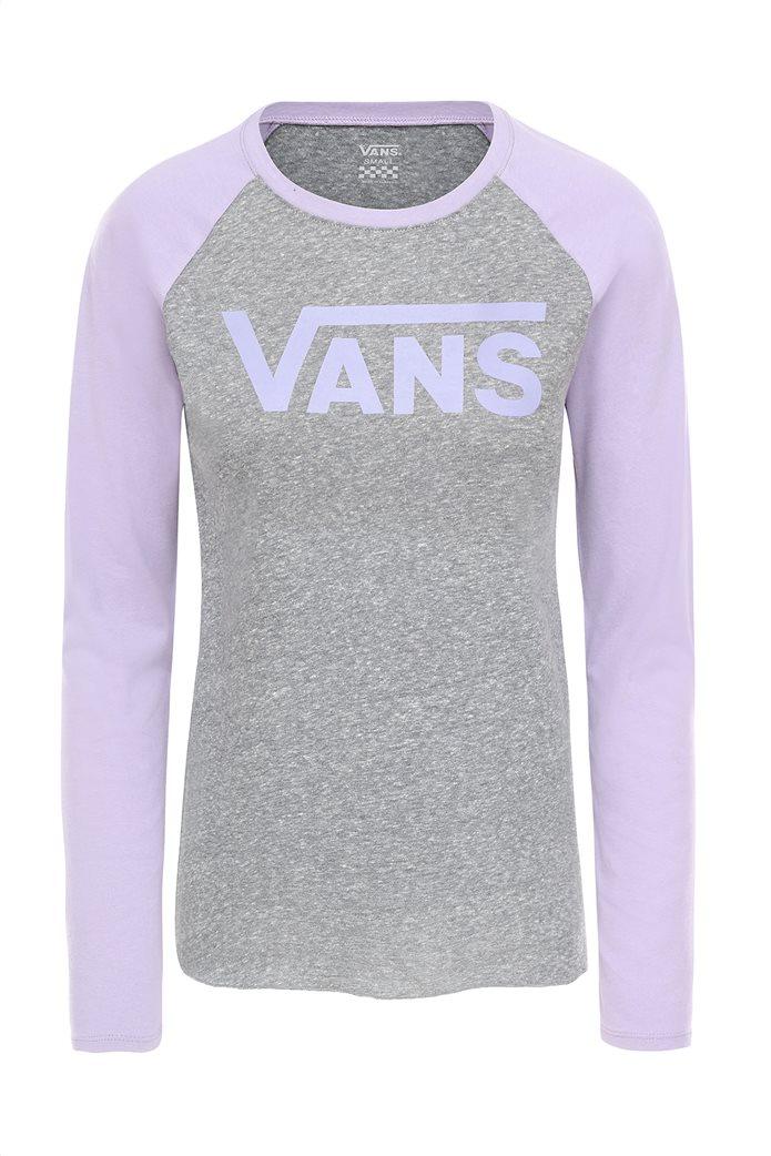 Vans γυναικεία μπλούζα Flying V Long Sleeve Raglan 2