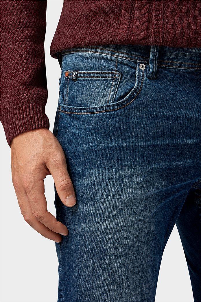 Tom Tailor ανδρικό τζην  παντελόνι πεντάτσεπο Slim fit Aedan 1