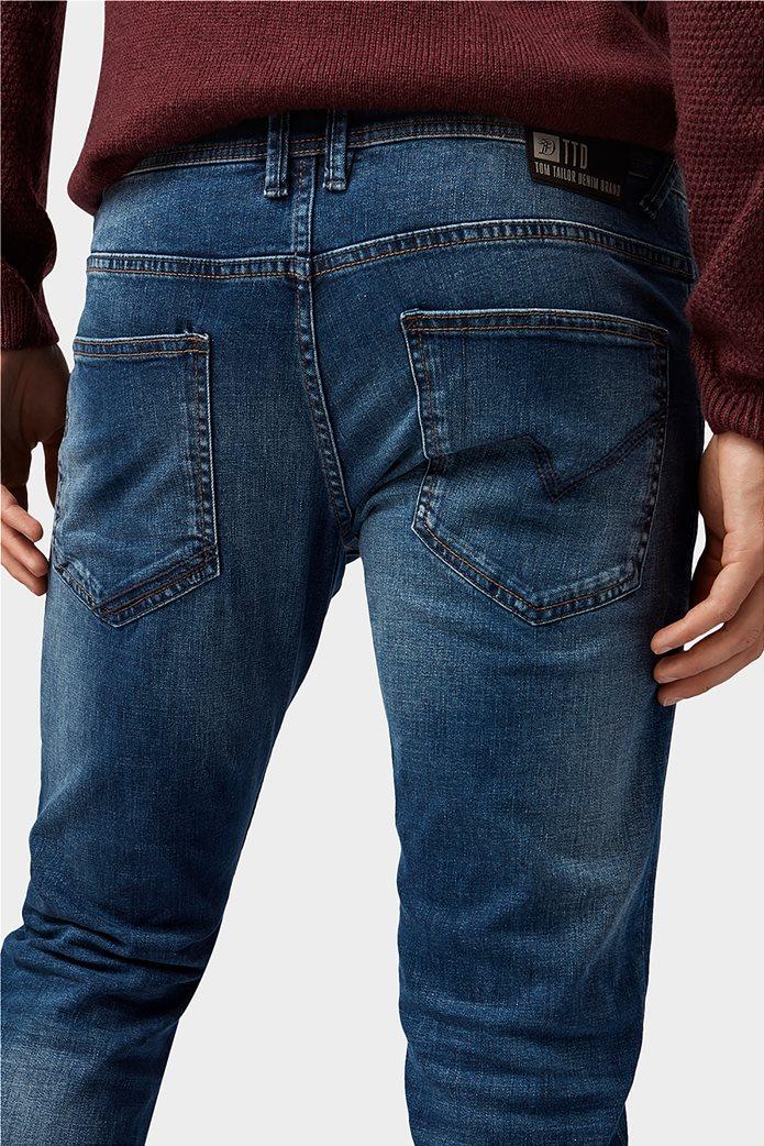 Tom Tailor ανδρικό τζην  παντελόνι πεντάτσεπο Slim fit Aedan 4