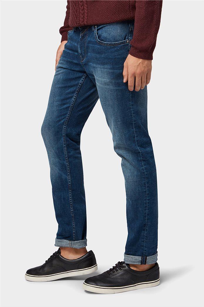Tom Tailor ανδρικό τζην  παντελόνι πεντάτσεπο Slim fit Aedan 5