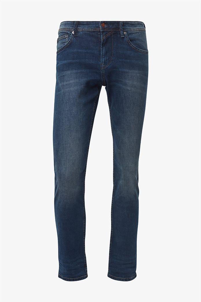 Tom Tailor ανδρικό τζην  παντελόνι πεντάτσεπο Slim fit Aedan 6