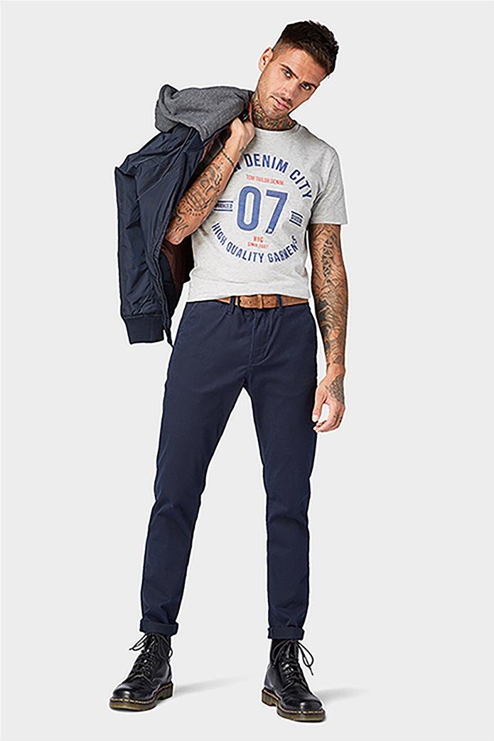 Tom Tailor ανδρικό παντελόνι chino με ζώνη 0