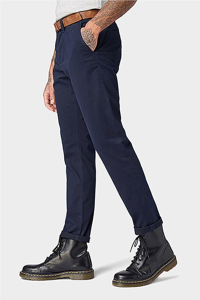 Tom Tailor ανδρικό παντελόνι chino με ζώνη 2