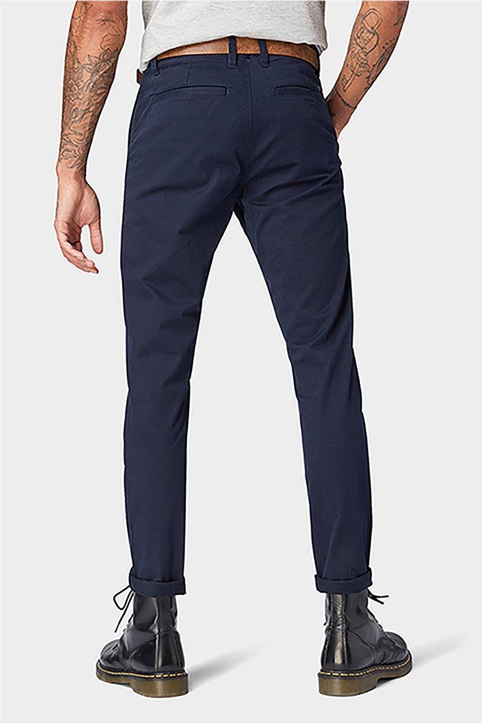 Tom Tailor ανδρικό παντελόνι chino με ζώνη 3