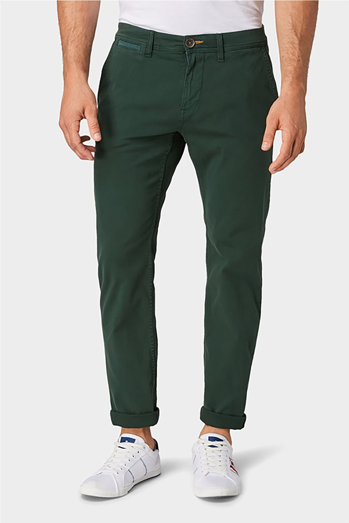 Tom Tailor ανδρικό chino παντελόνι μονόχρωμο 1
