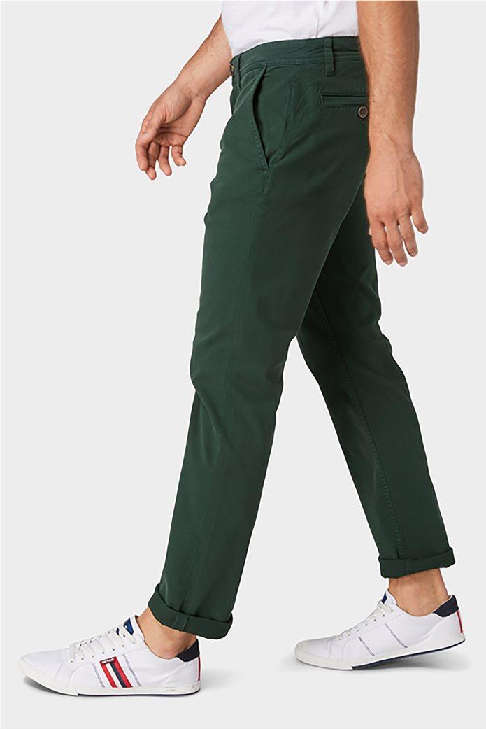 Tom Tailor ανδρικό chino παντελόνι μονόχρωμο 2