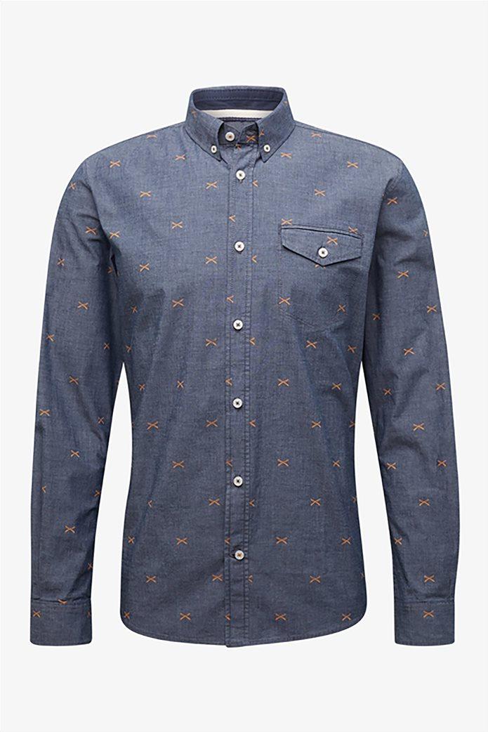 Tom Tailor ανδρικό πουκάμισο με μικροσχέδια 3