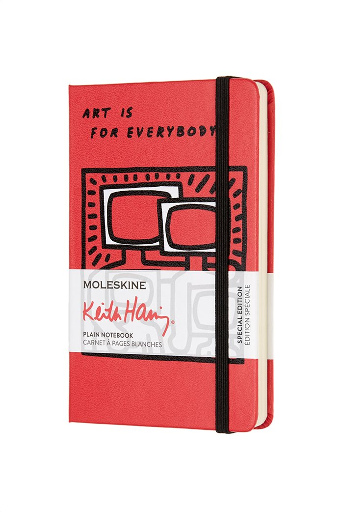 Σημειωματάριο  Keith Haring Plain  Pocket Moleskine 0