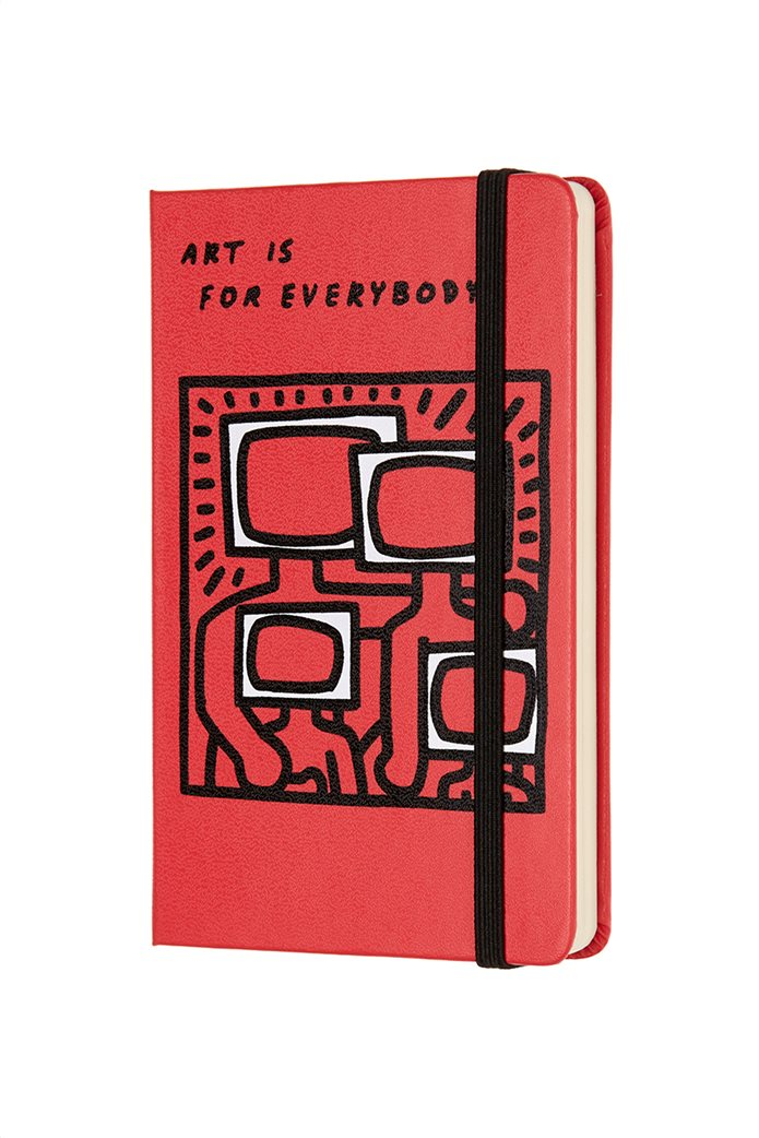 Σημειωματάριο  Keith Haring Plain  Pocket Moleskine 1