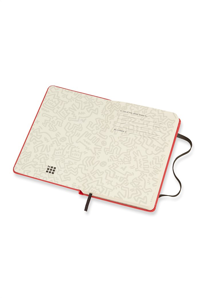 Σημειωματάριο  Keith Haring Plain  Pocket Moleskine 2