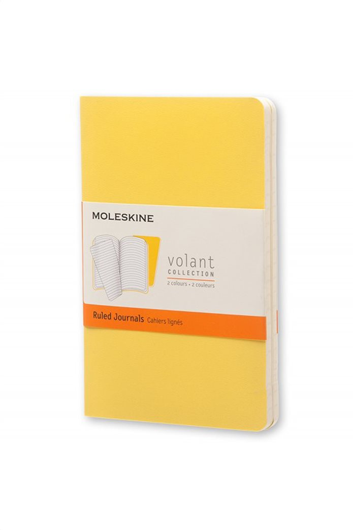 Σημειωματάριο Volant Ruled Pocket (2 Τεμάχια) Moleskine. 0