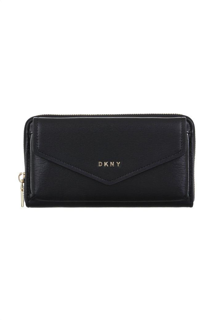DKNY γυναικείο πορτοφόλι με λουράκι crossbody ''Polly'' 0