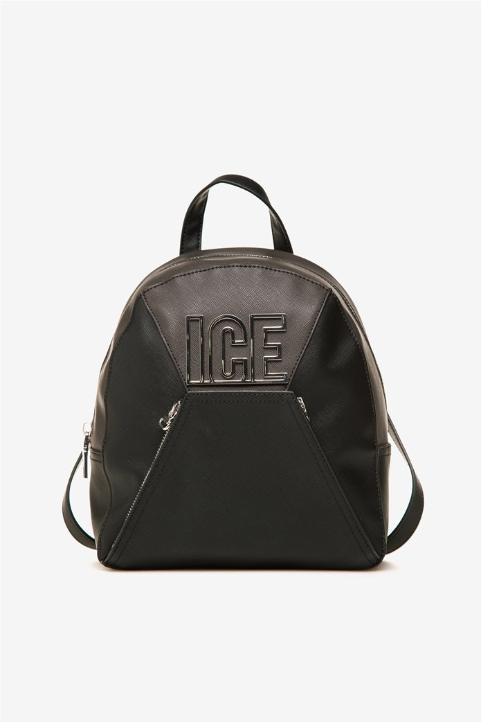 ICE γυναικείο backpack με μεταλλικό λογότυπο 0