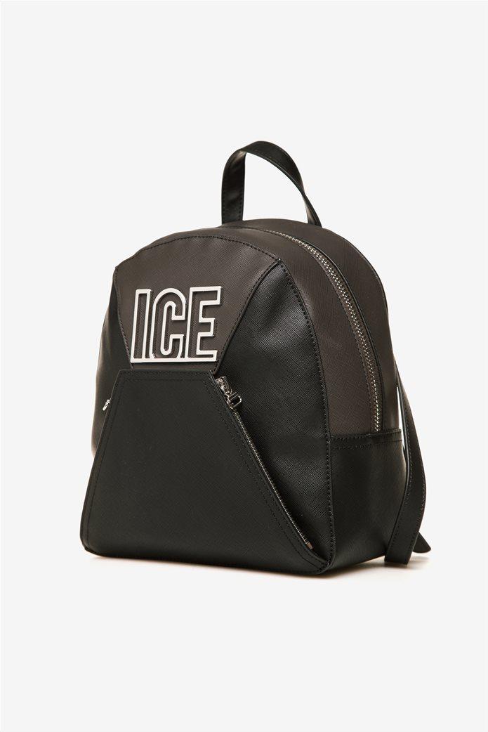 ICE γυναικείο backpack με μεταλλικό λογότυπο 1