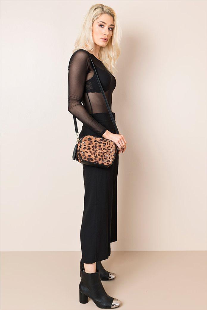 Pia Rossini γυναικεία τσάντα με λεοπάρ σχέδιο 0