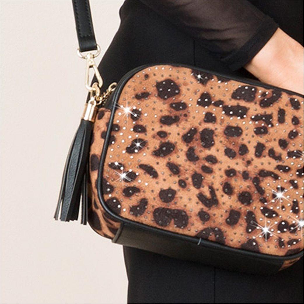 Pia Rossini γυναικεία τσάντα με λεοπάρ σχέδιο 1