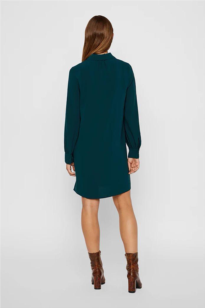 Vero Moda γυναικείο φόρεμα με φερμουάρ loose fit 1