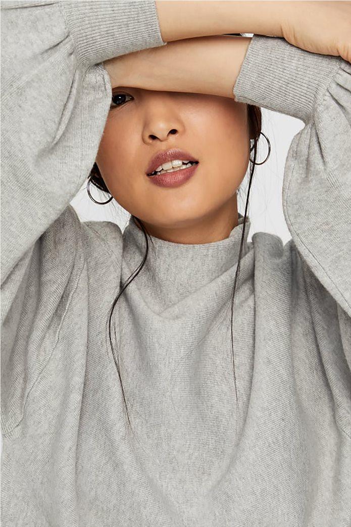 Vero Moda γυναικεία πλεκτή μπλούζα oversized με μανίκια balloon 1