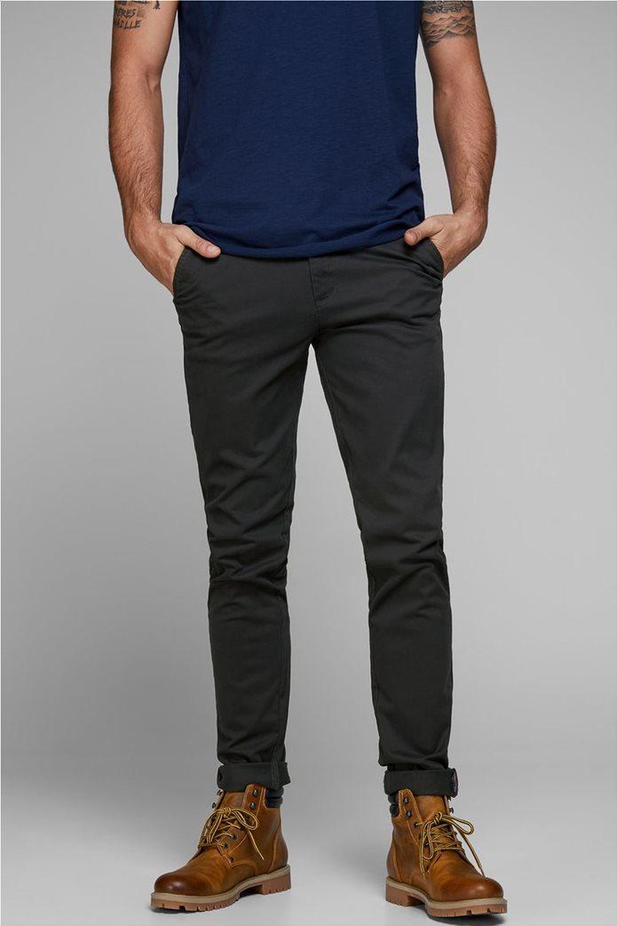JACK & JONES Ανδρικό παντελόνι chino Marco Bowie Μαύρο 0
