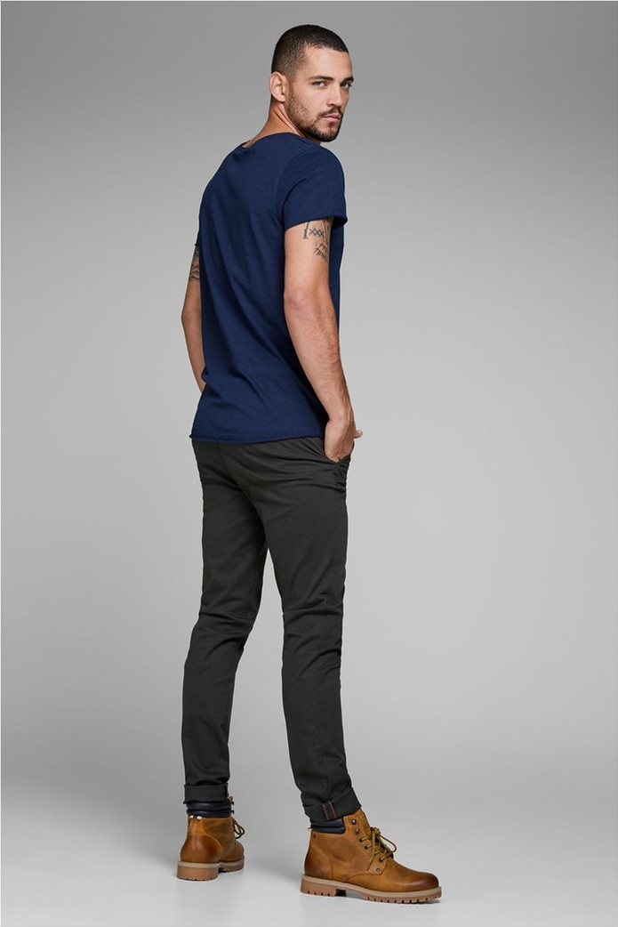 JACK & JONES Ανδρικό παντελόνι chino Marco Bowie Μαύρο 3