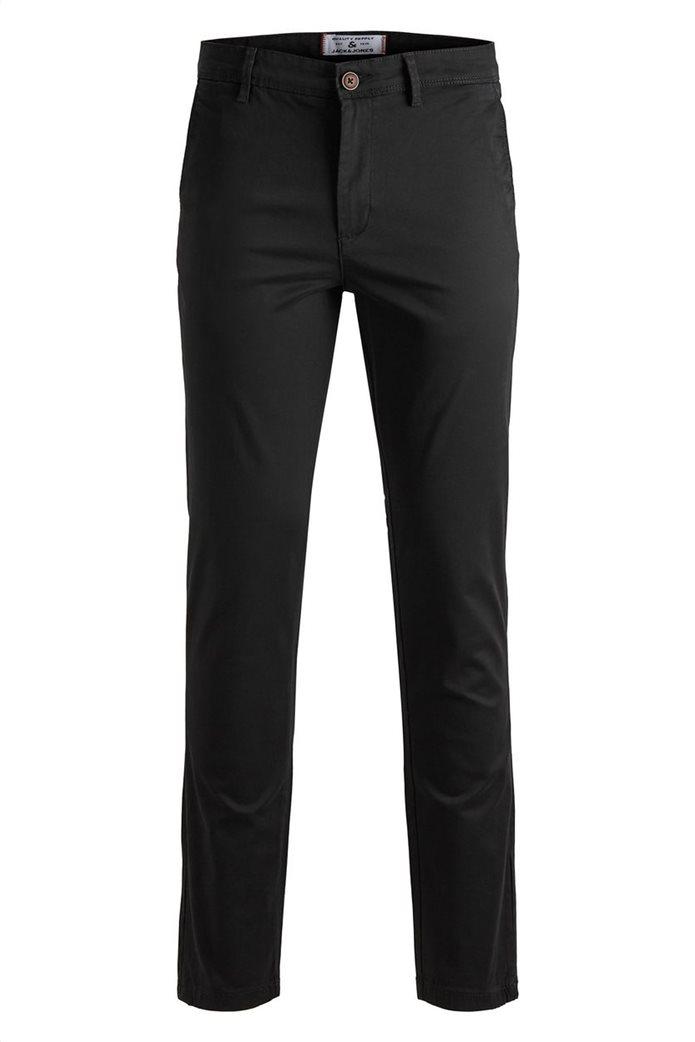 JACK & JONES Ανδρικό παντελόνι chino Marco Bowie Μαύρο 6