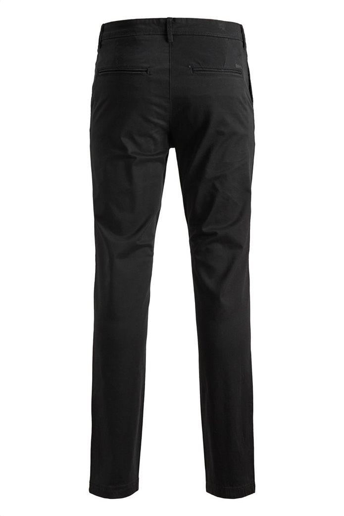 JACK & JONES Ανδρικό παντελόνι chino Marco Bowie Μαύρο 7
