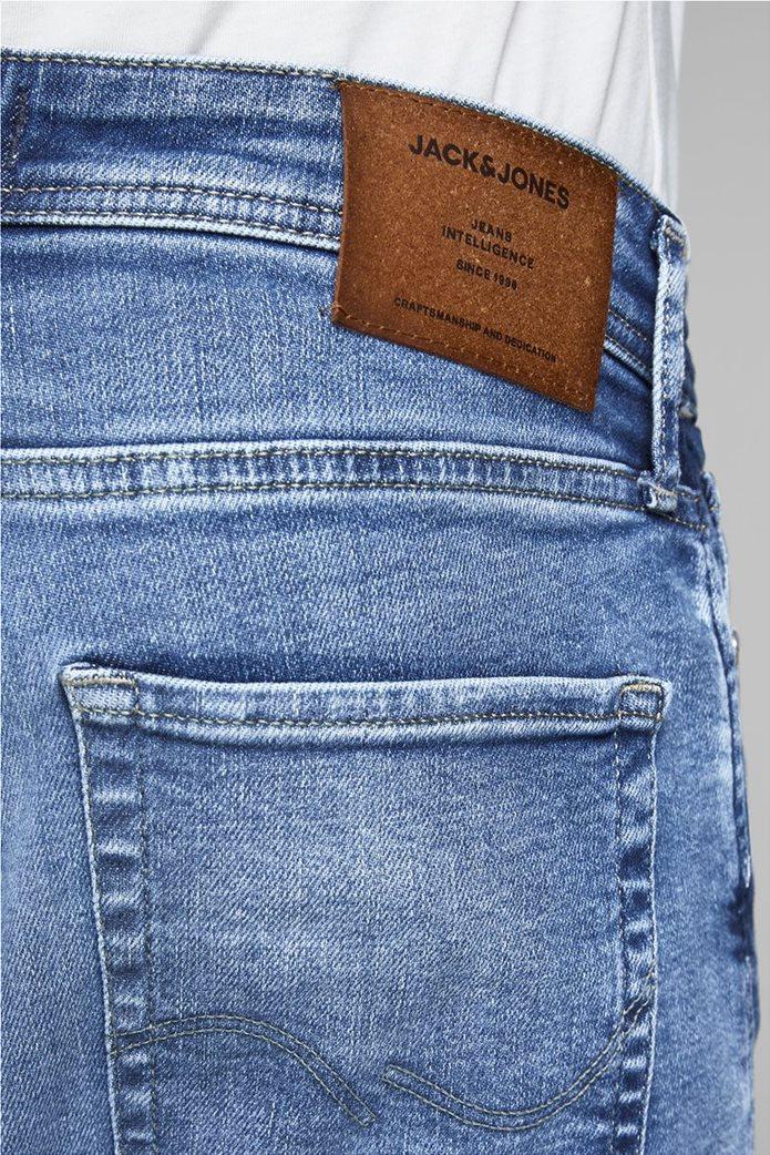 JACK & JONES Ανδρικό jean παντελόνι Tim Original JJ 145 Lid Μπλε Σκούρο 4