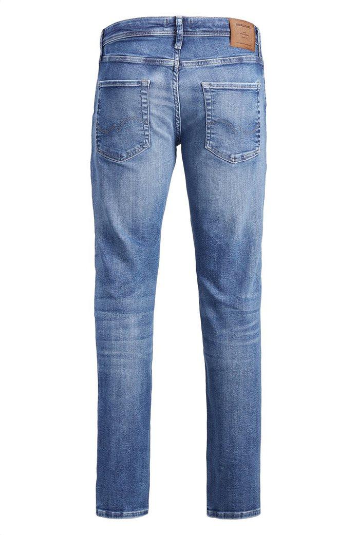 JACK & JONES Ανδρικό jean παντελόνι Tim Original JJ 145 Lid Μπλε Σκούρο 7