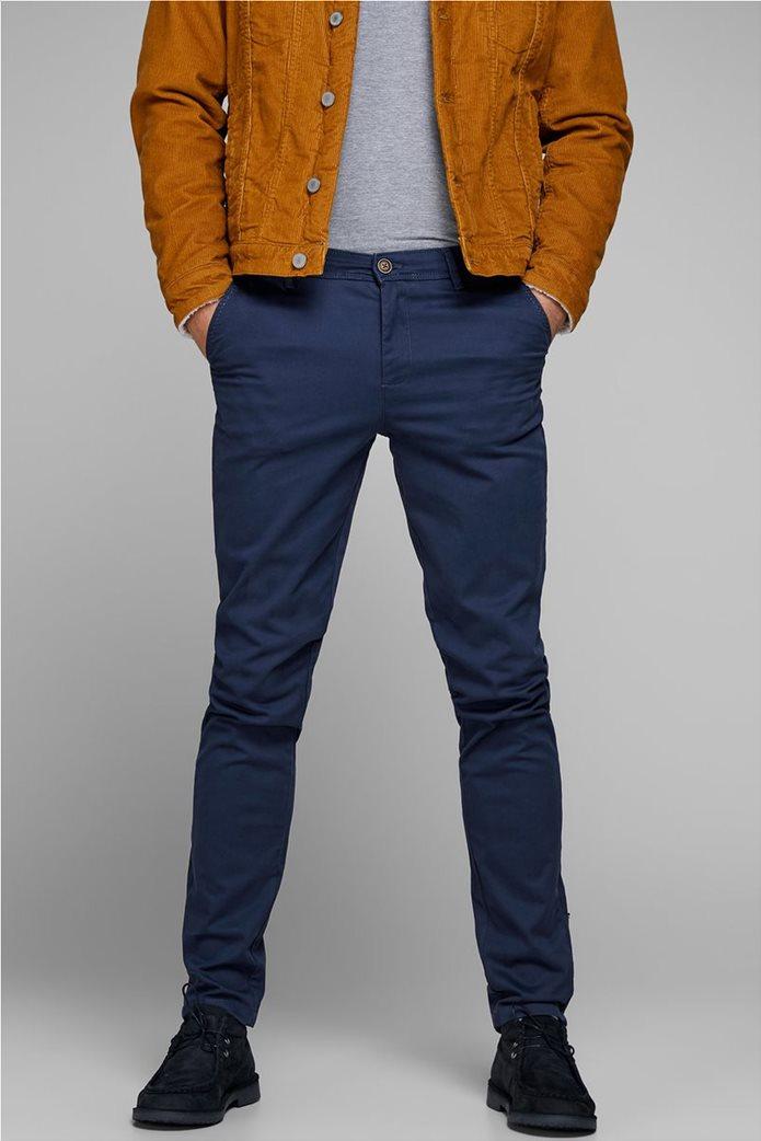 JACK & JONES Ανδρικό παντελόνι chino Marco Bowie Navy Blazer 0