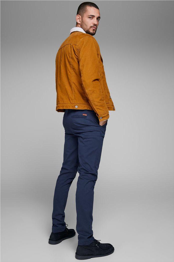JACK & JONES Ανδρικό παντελόνι chino Marco Bowie Navy Blazer 1