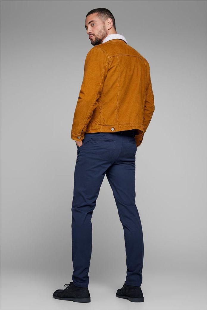 JACK & JONES Ανδρικό παντελόνι chino Marco Bowie Navy Blazer 3