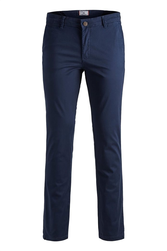 JACK & JONES Ανδρικό παντελόνι chino Marco Bowie Navy Blazer 6