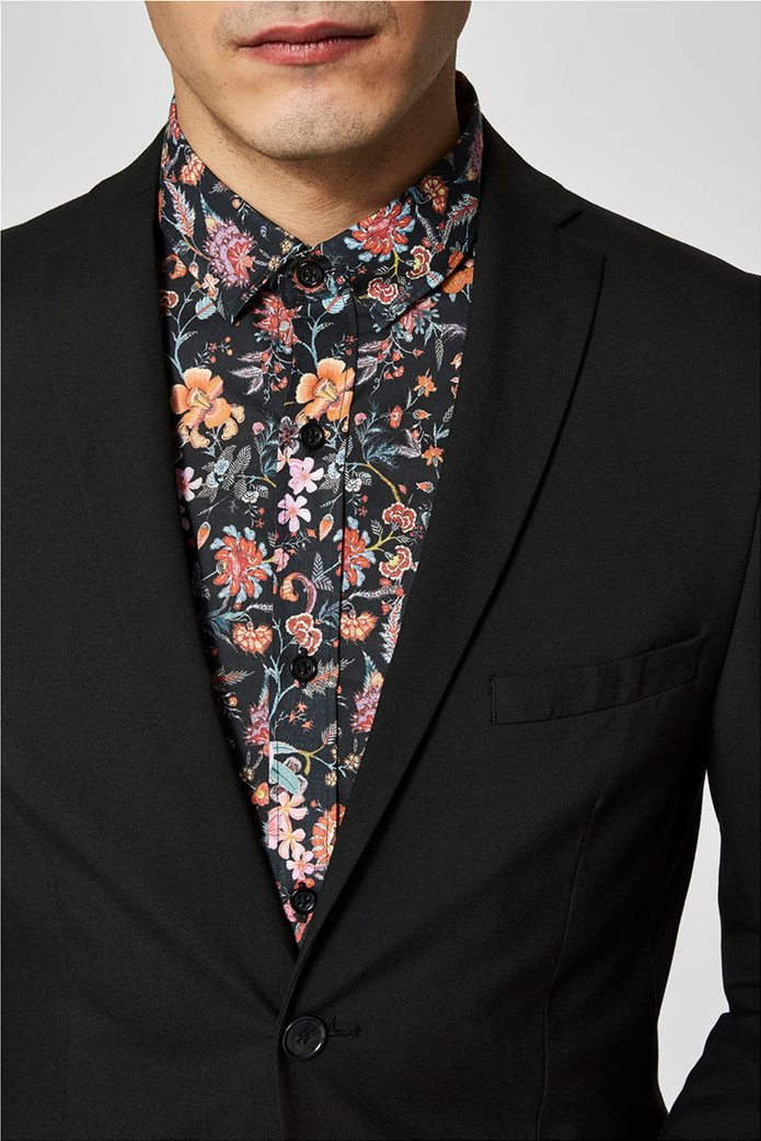 SELECTED ανδρικό σακάκι Slim fit Μαύρο 3