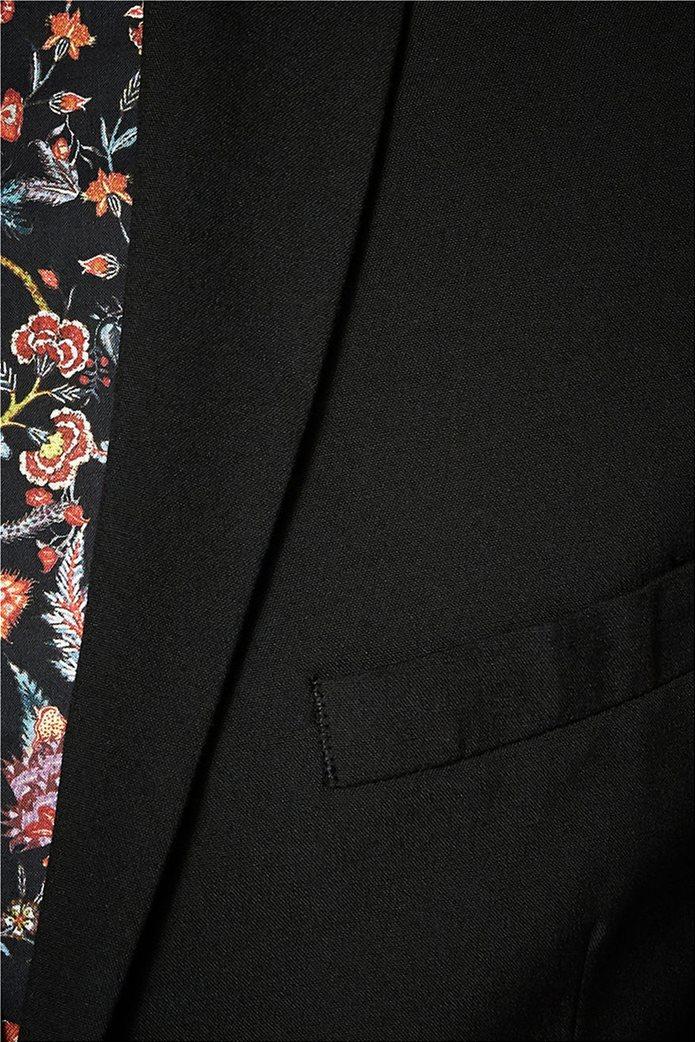 SELECTED ανδρικό σακάκι Slim fit Μαύρο 4