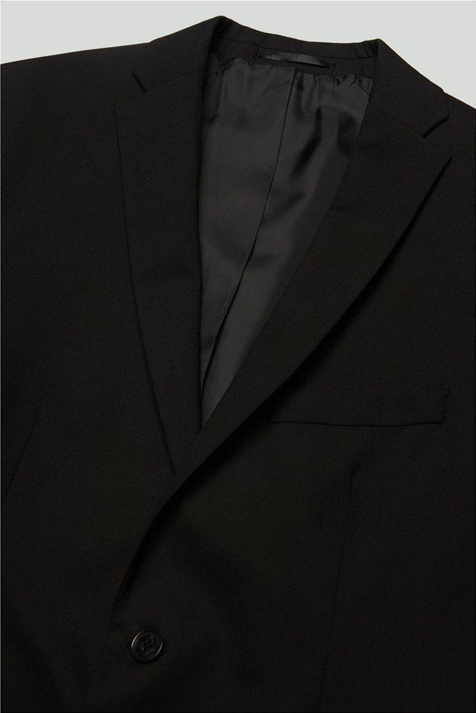 SELECTED ανδρικό σακάκι Slim fit Μαύρο 5